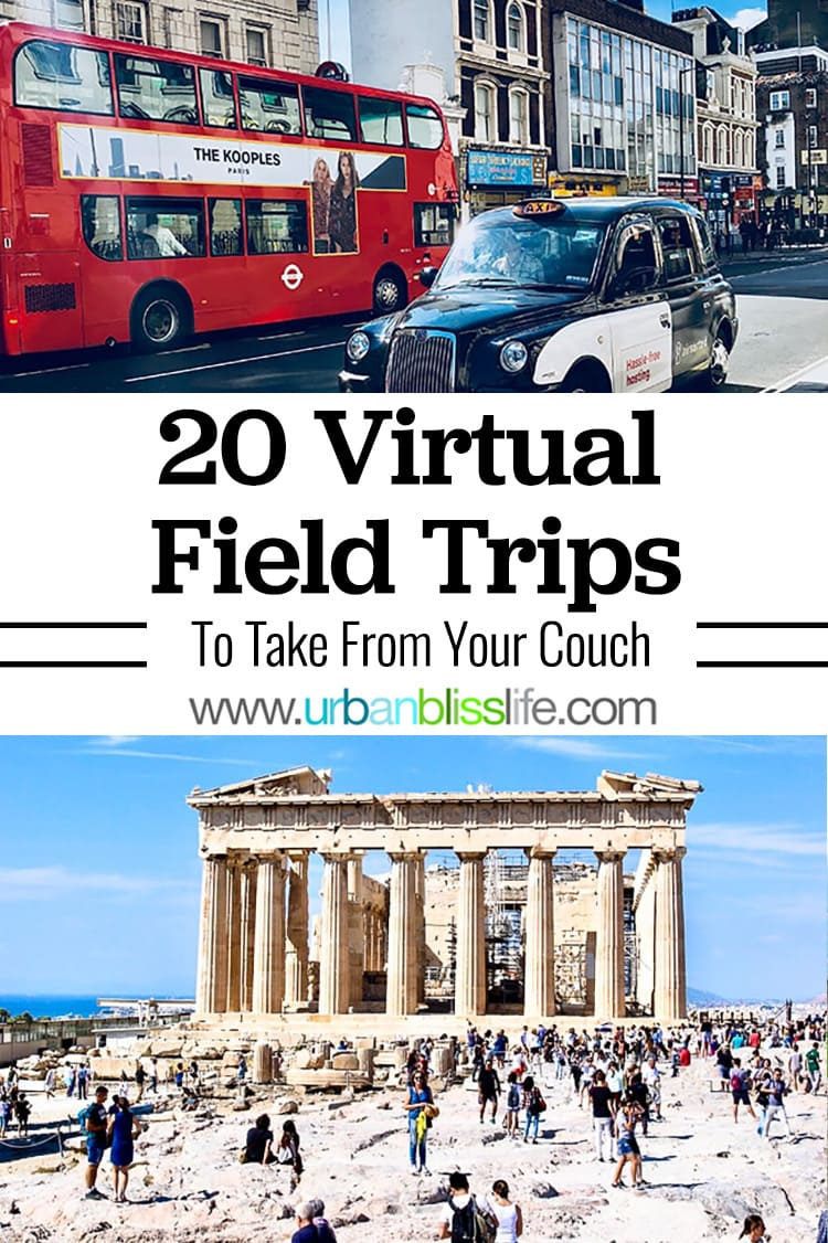 20 virtual field trips