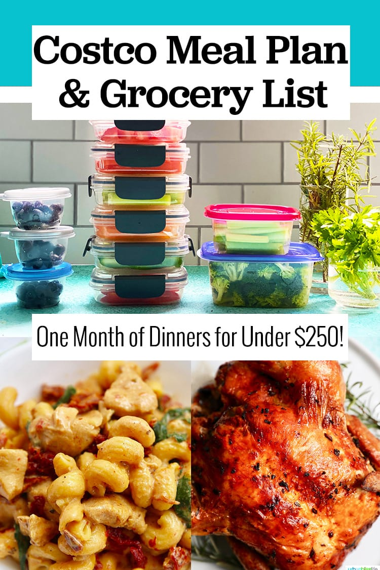Costco meal plan