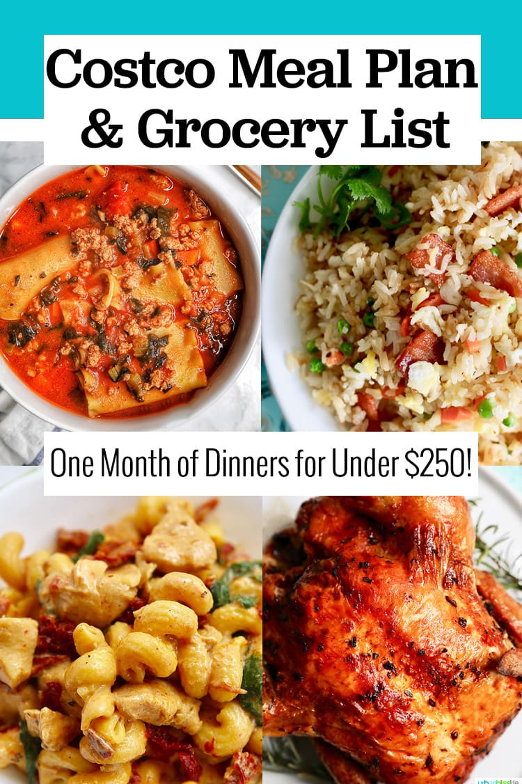 Costco meal planning