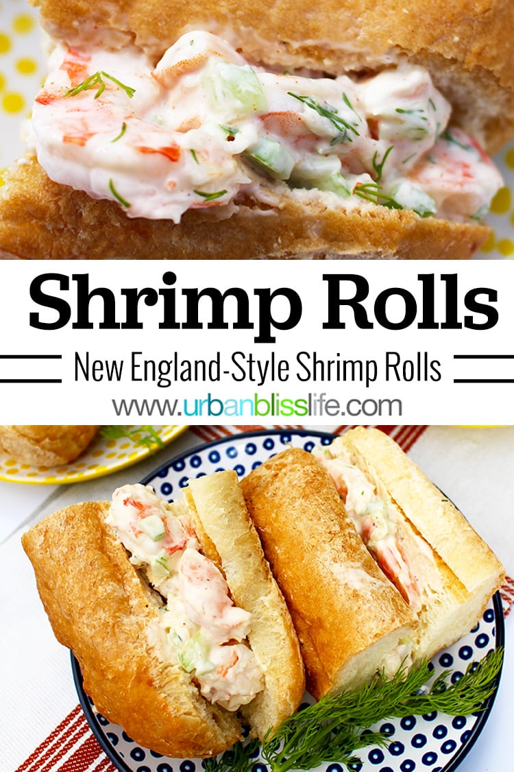 New England Style Shrimp Roll Recipe