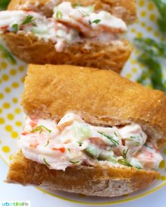 shrimp roll recipe