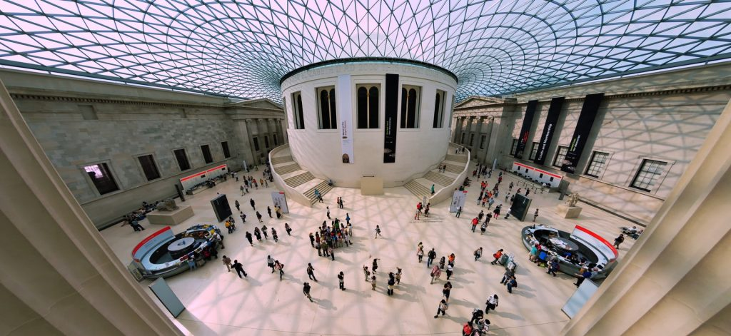 virtual field trips: british musem