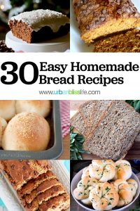 30 Easy Homemade Bread Recipes