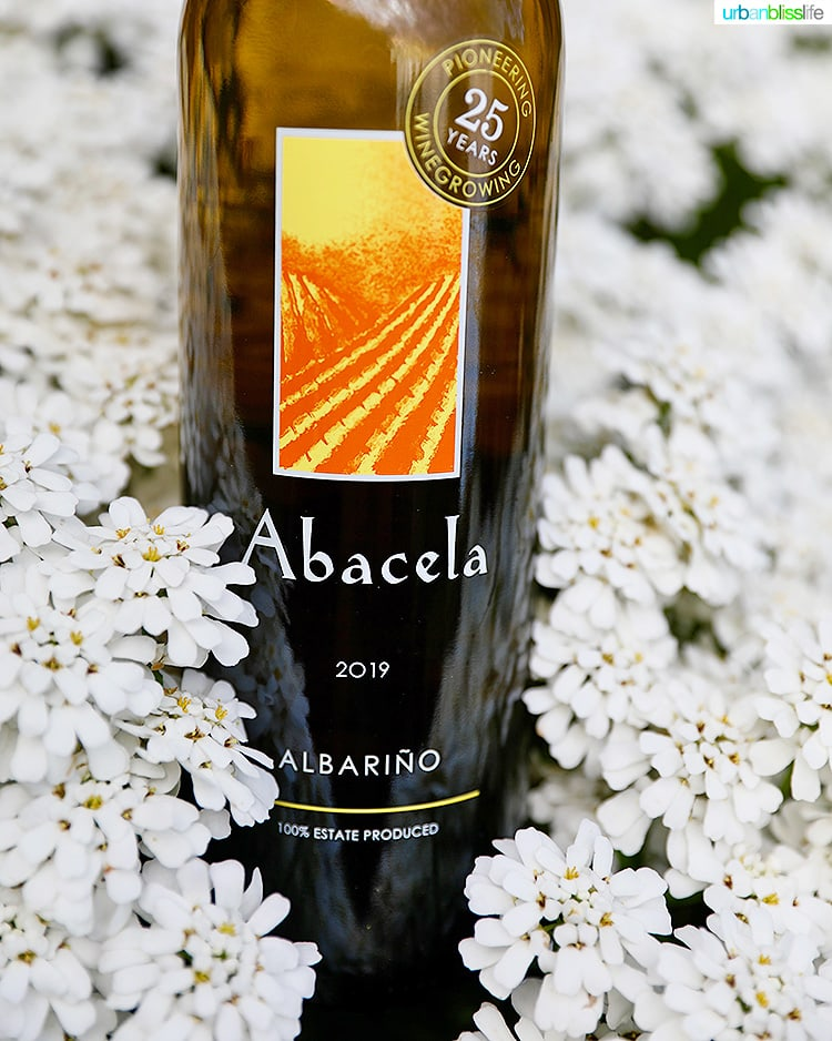 Abacela Albarino white wine