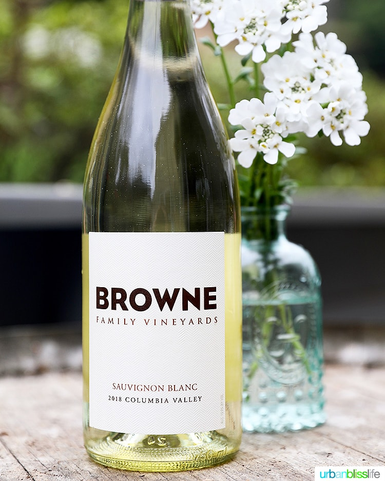 Browne Family Vineyards Sauvignon Blanc white wine