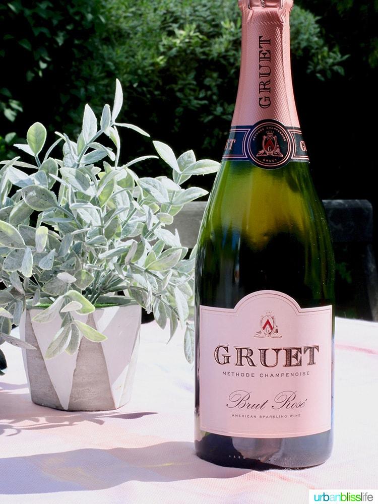Gruet Brut Rosé wine