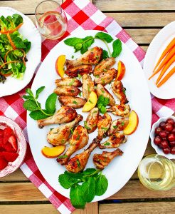 summer food and wine pairings: chicken and wine