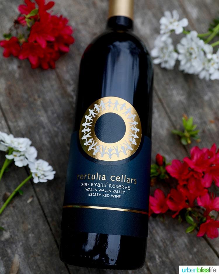 Tertulia Cellars Ryans Reserve Red Blend Wine