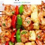 grilled shrimp pineapple skewers recipe