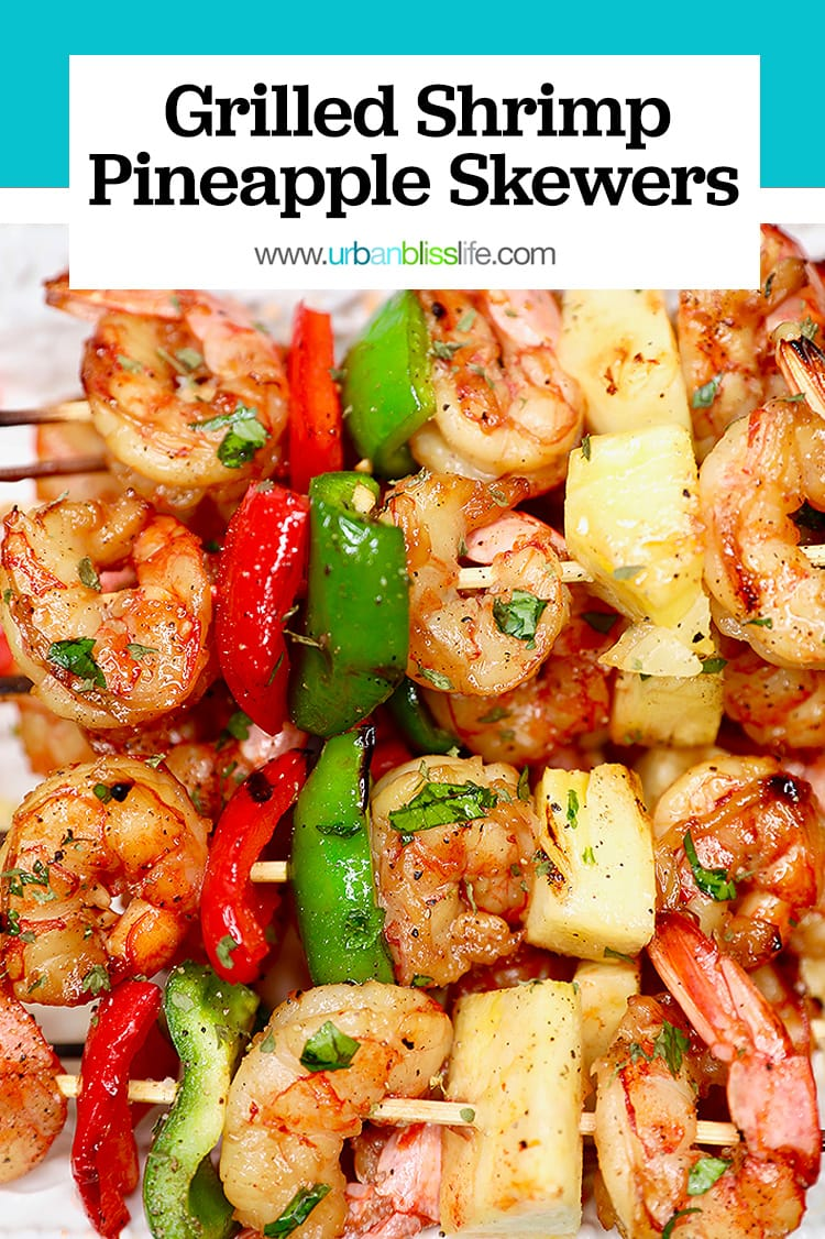 grilled shrimp pineapple skewers recipe