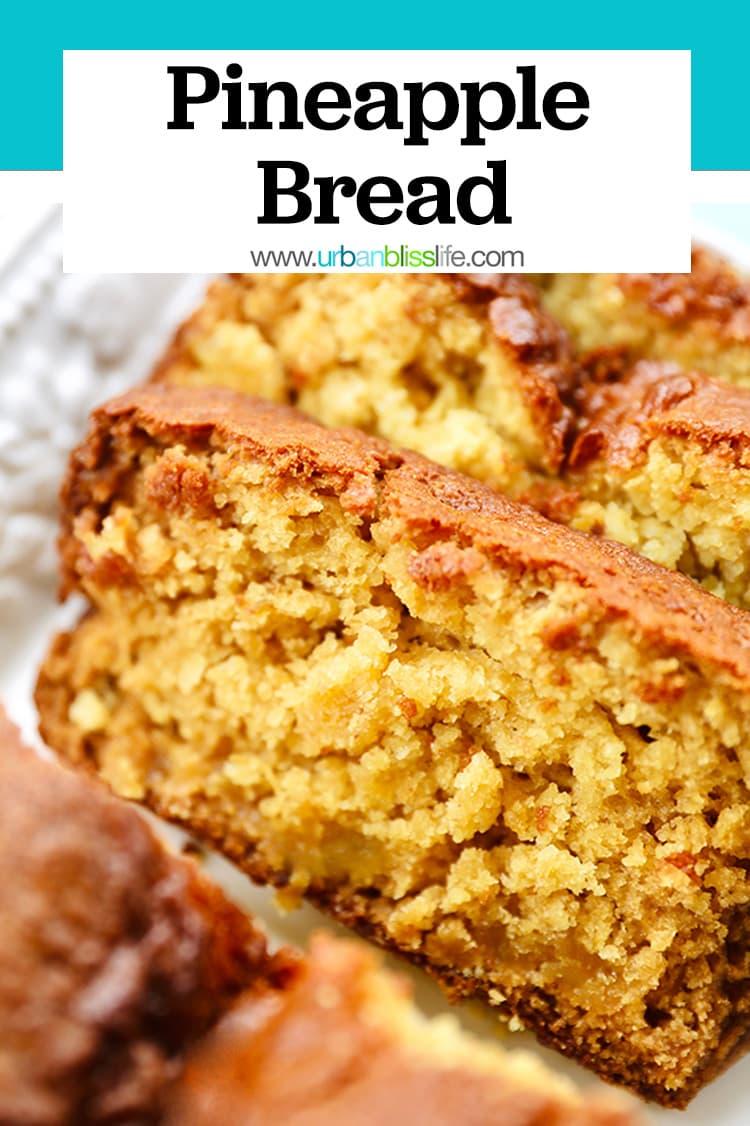 pineapple bread recipe