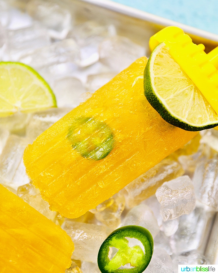 Tropical Margarita Popsicles