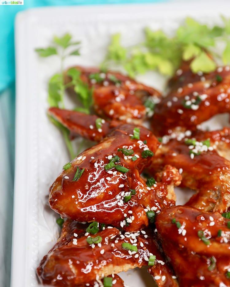 air fryer teriyaki chicken wings