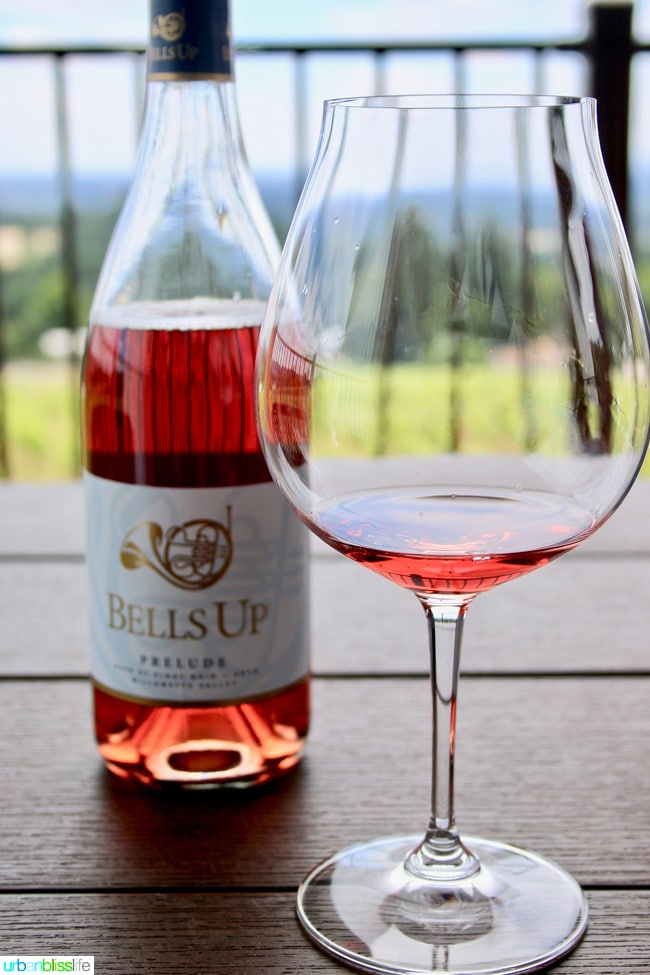 Bells Up Winery Prelude Rosé wine