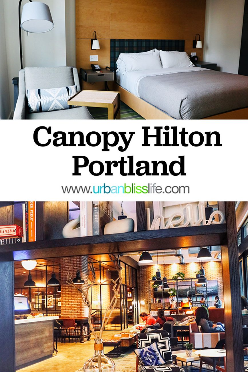 main graphic for Canopy by Hilton Portland hotel