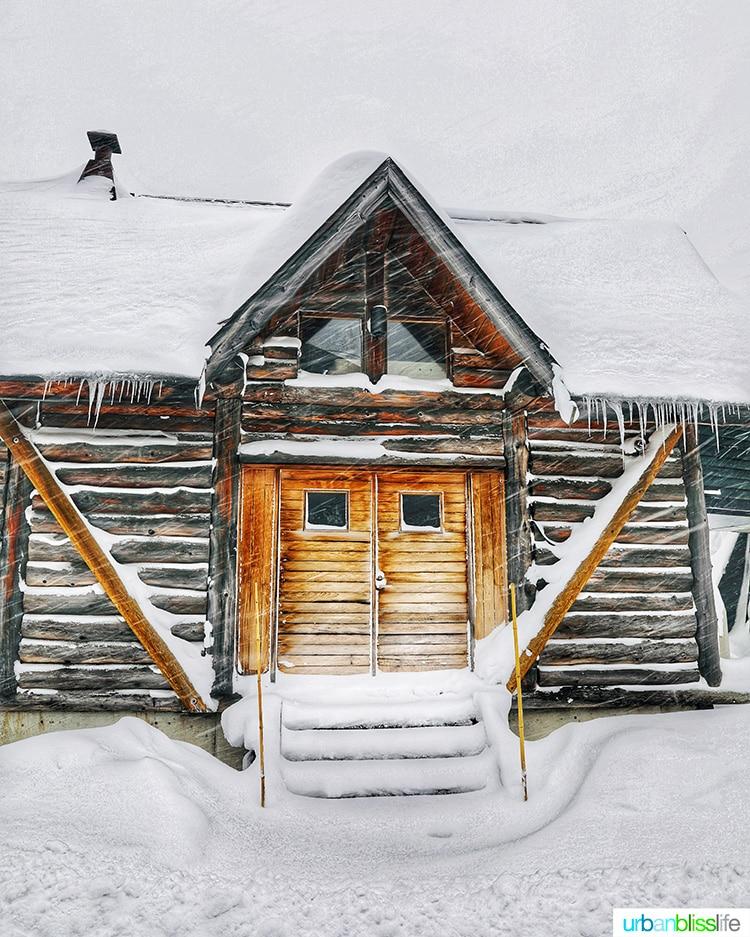 small cabin in Hotel Jogakura in Aomori Prefecture Japan