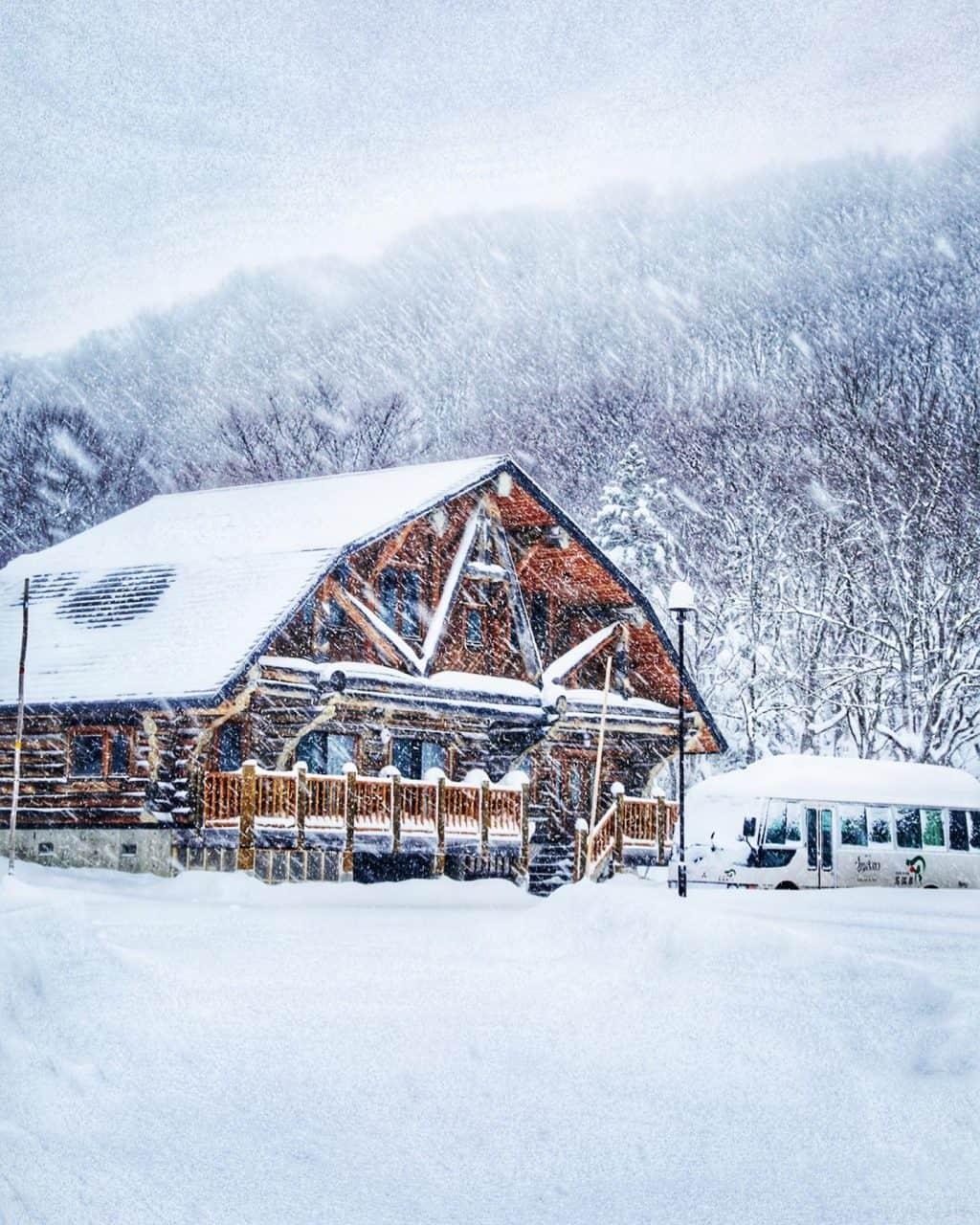 separate building Hotel Jogakura in Aomori Prefecture Japan
