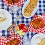 easy summer outdoor dinners