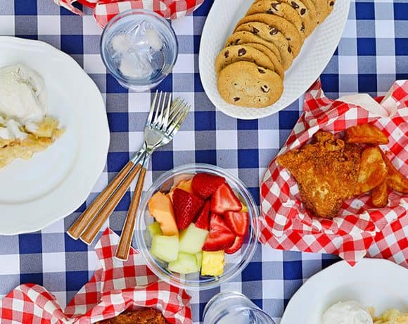 easy summer outdoor dinners