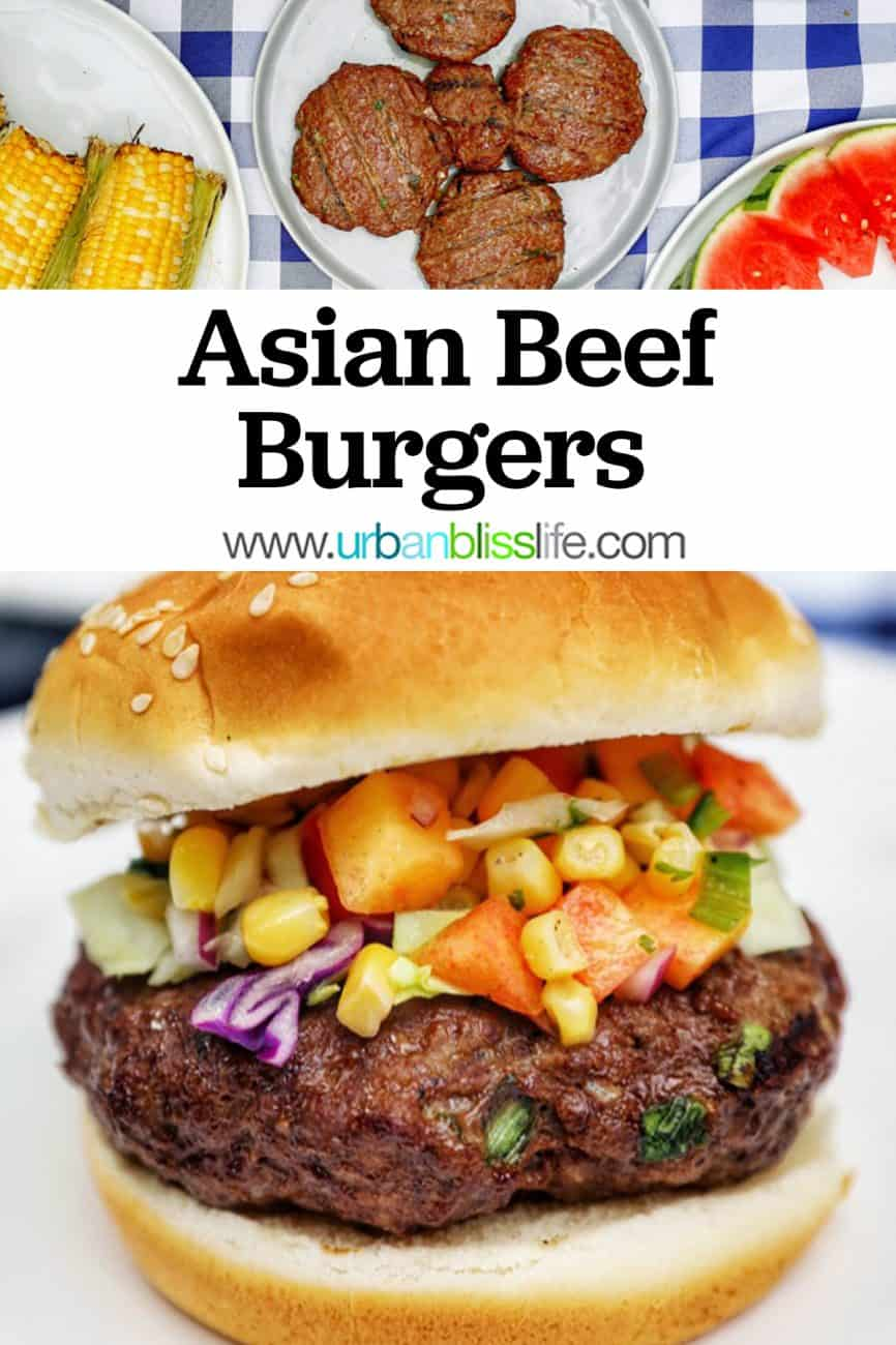 main graphic for asian burgers