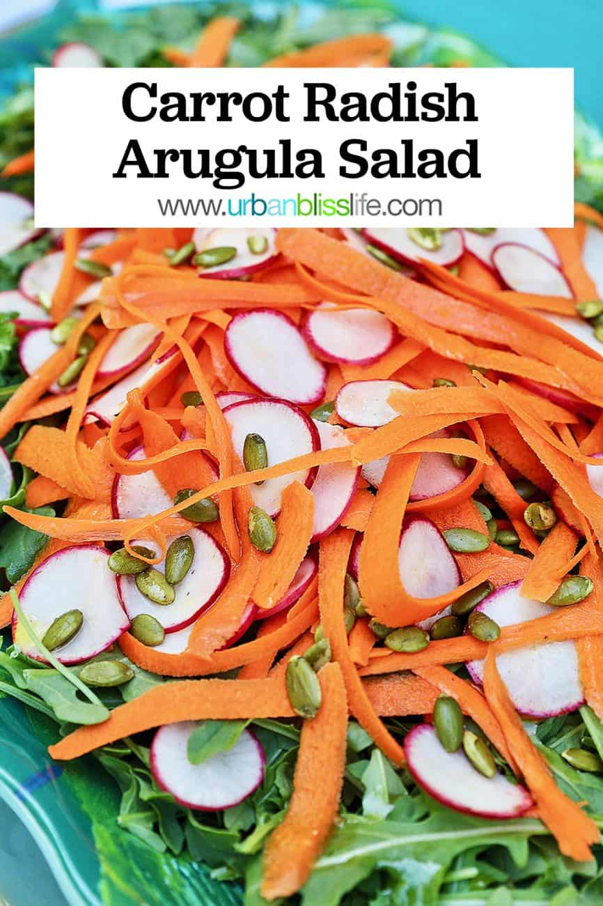 radish carrot salad graphic