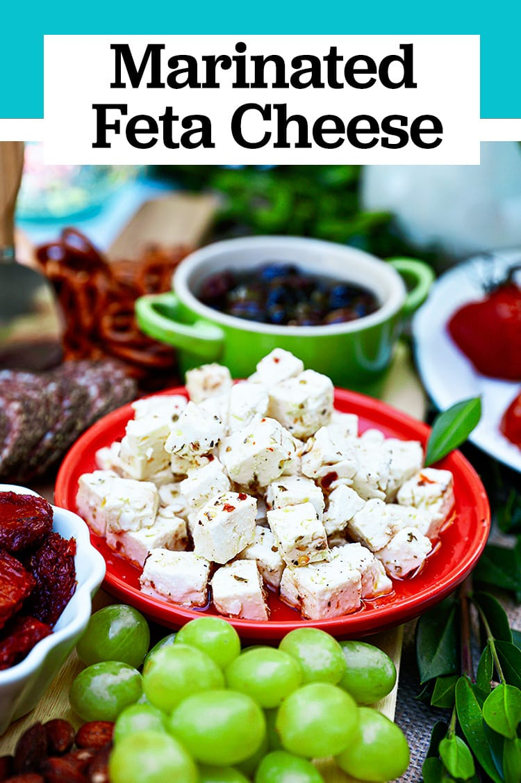 marinated feta appetizer