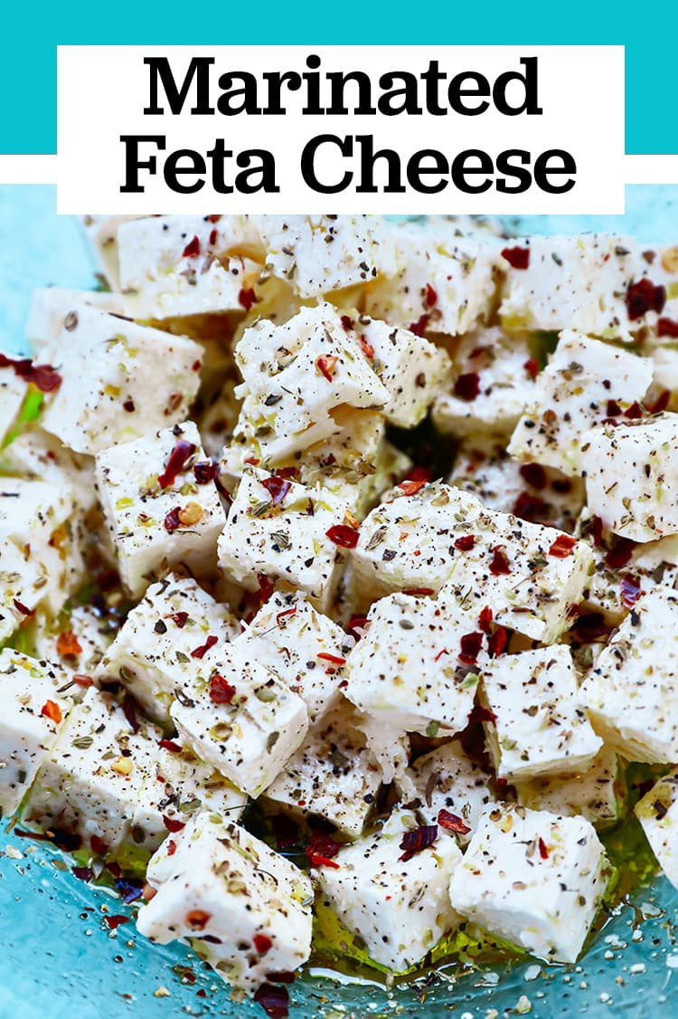 marinated feta appetizer recipe