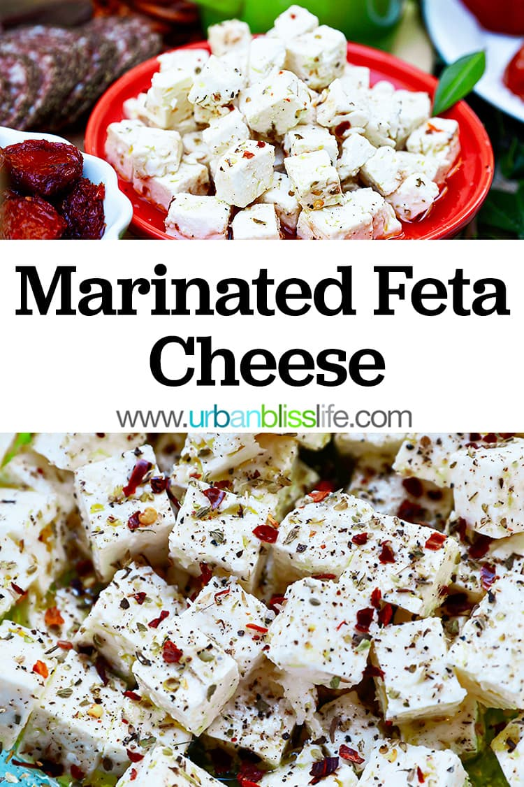 marinated feta cheese graphic