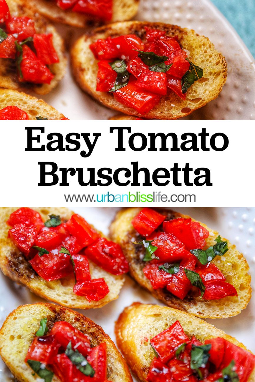 graphic for tomato bruschetta