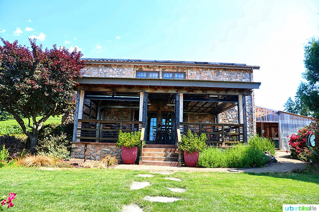 Lenné Estate tasting room