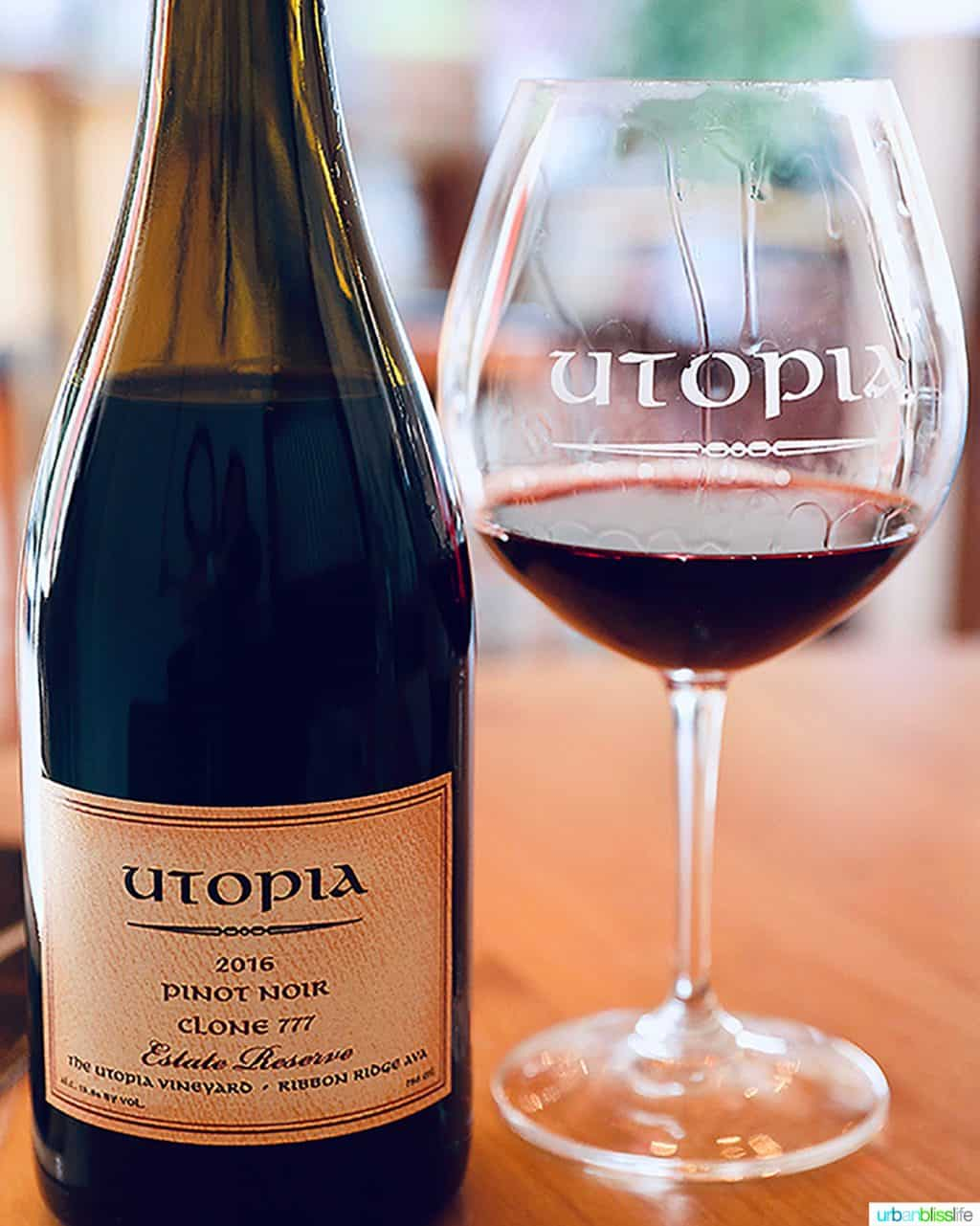 Utopia Vineyard pinot noir clone 777