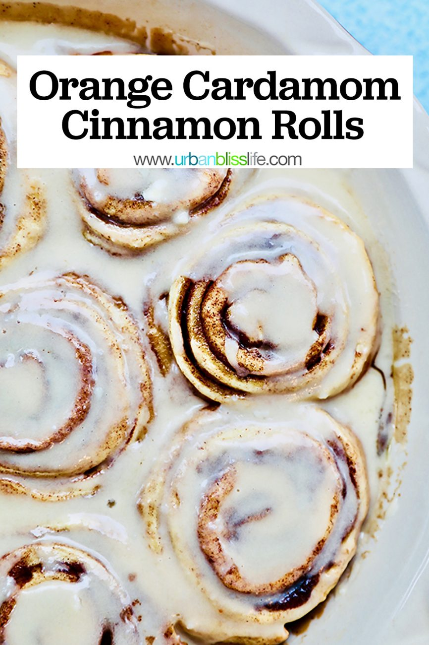 orange cardamom cinnamon rolls