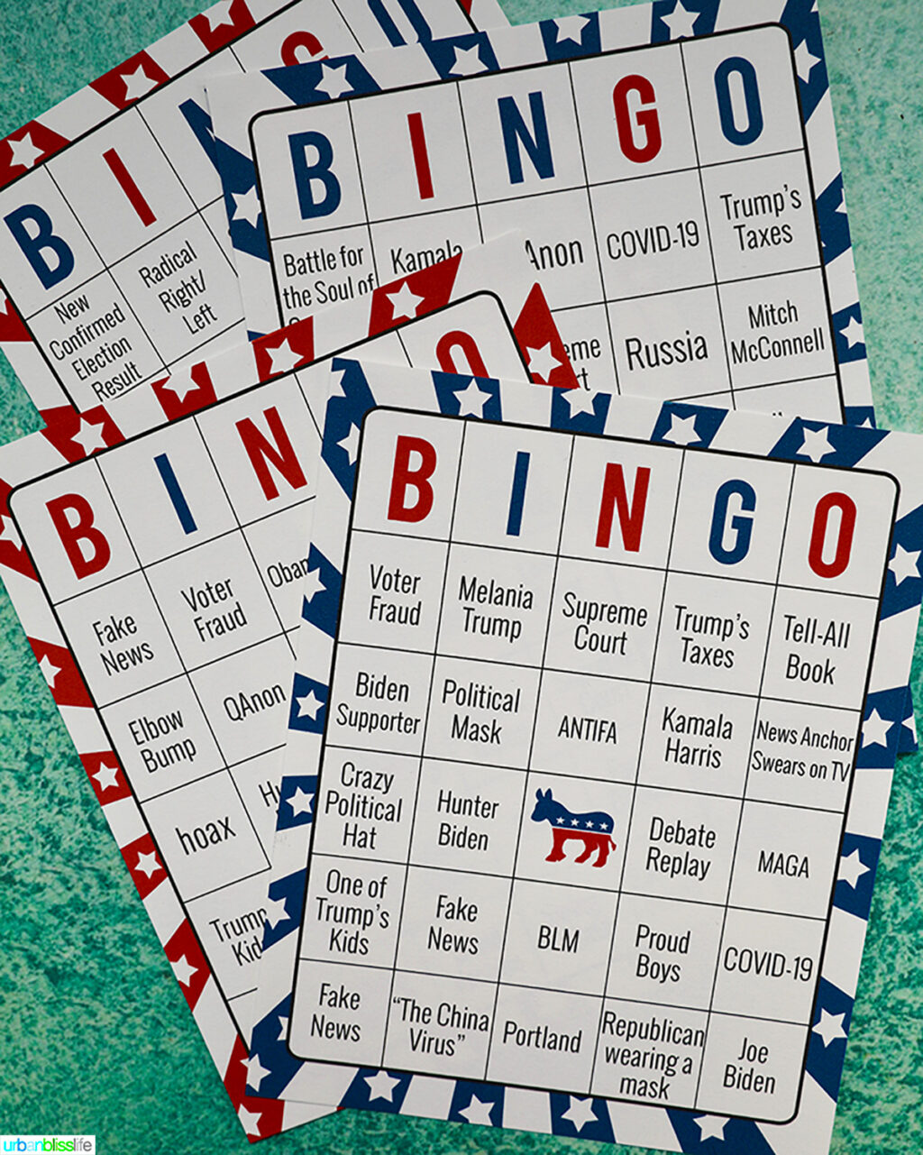2020 Election Bingo printables