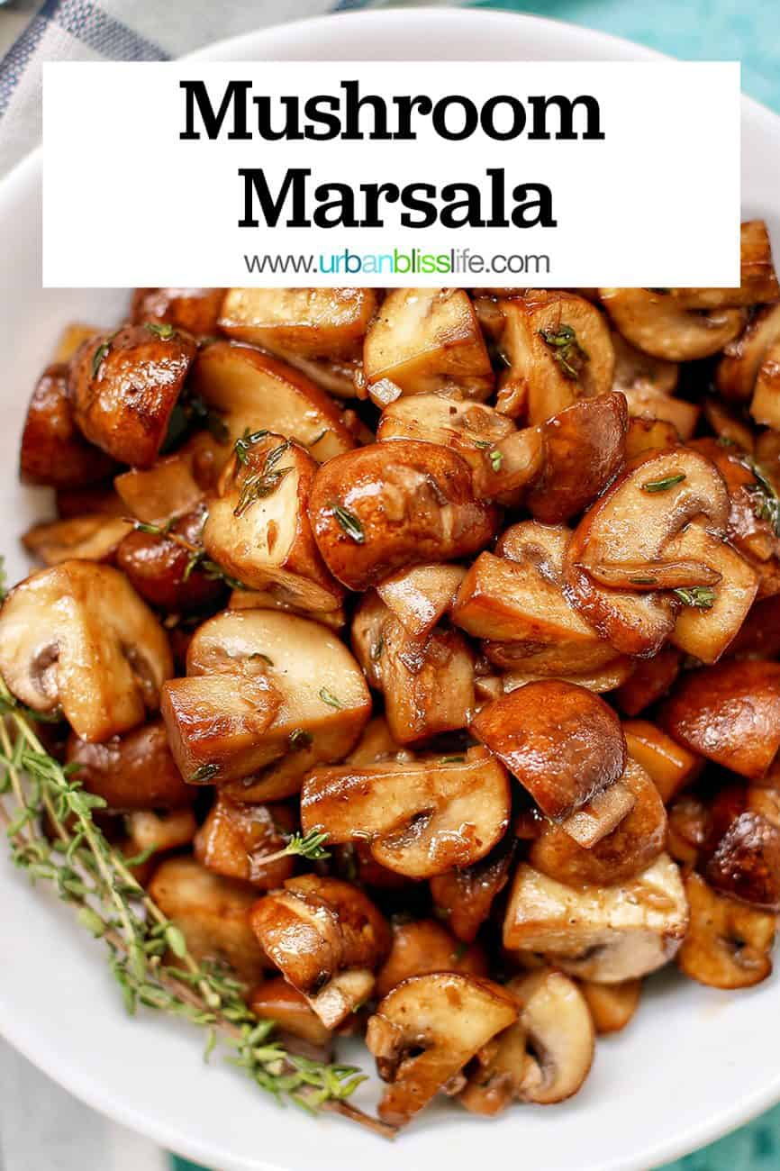mushroom marsala with title text