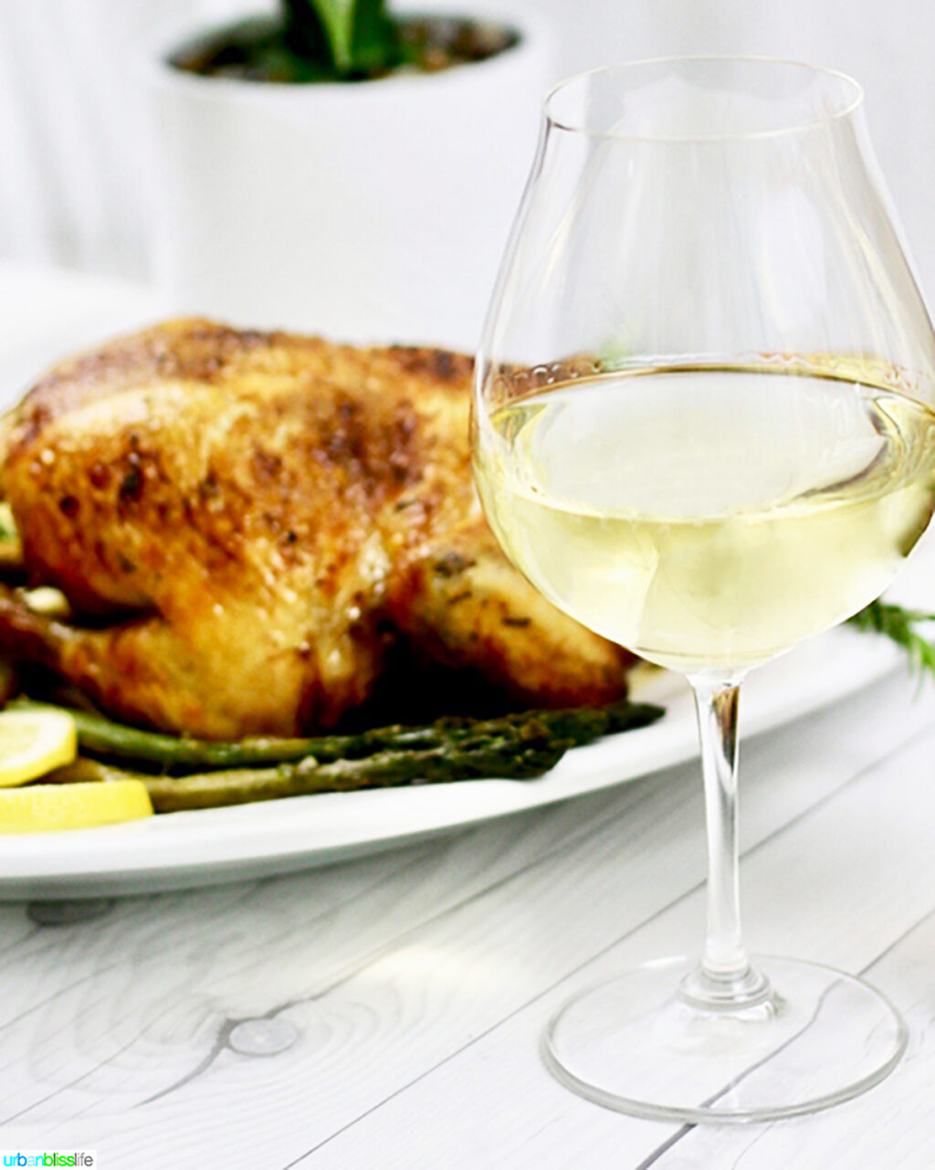 white wine pairing poultry