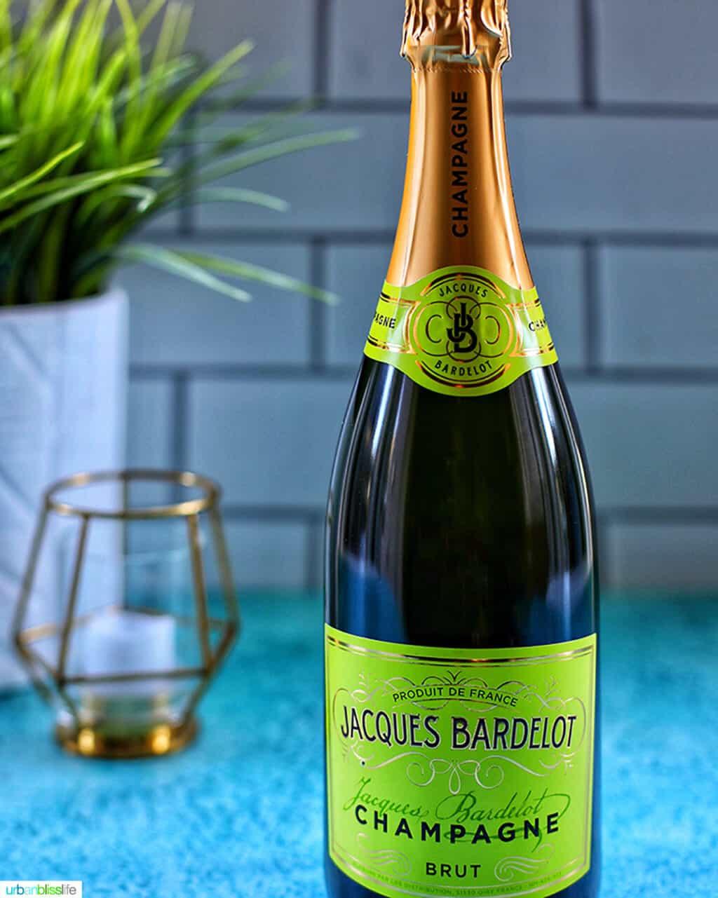 Jacques Bardelot Champagne bottle