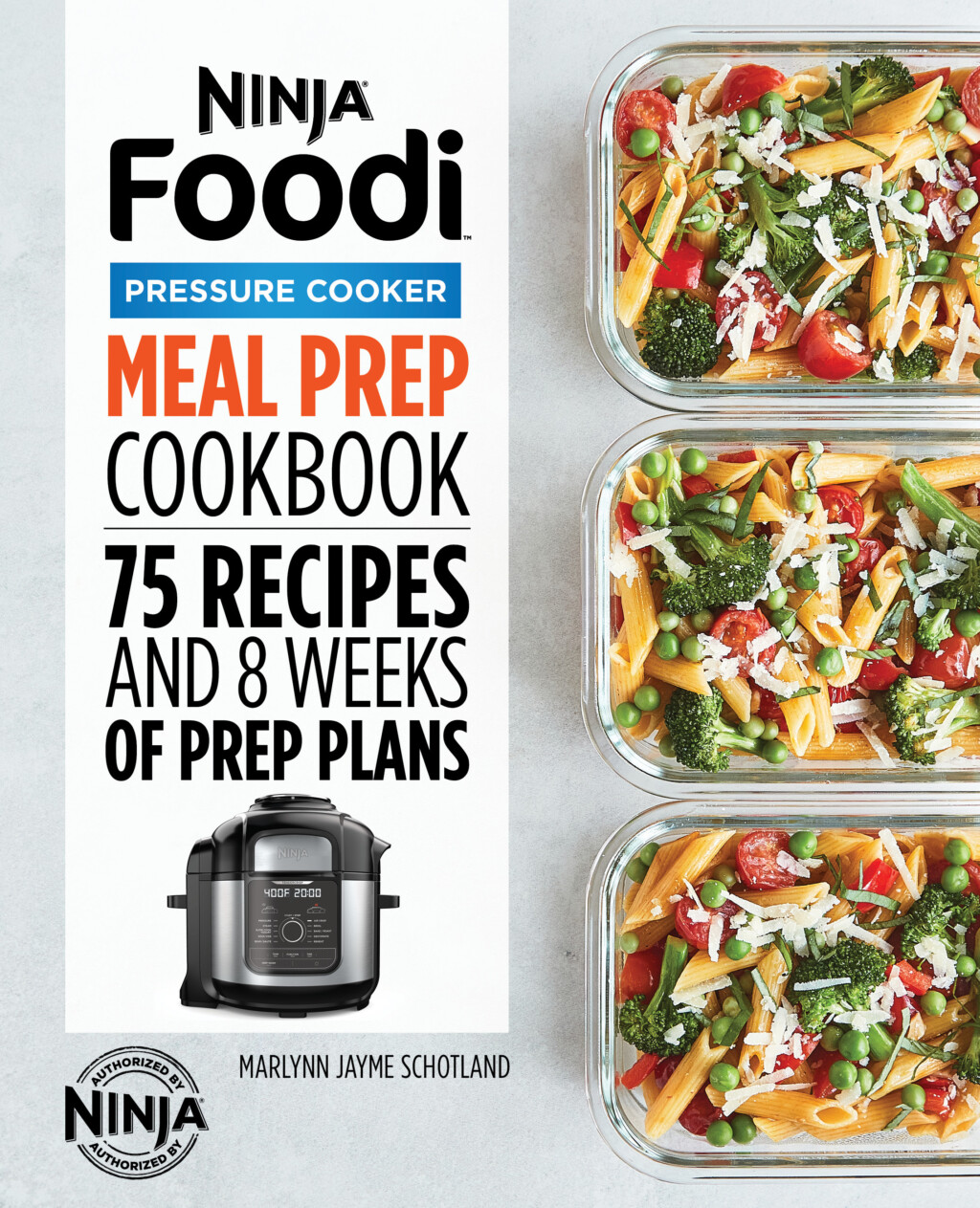 cover of the ninja foodi meal prep cookbook