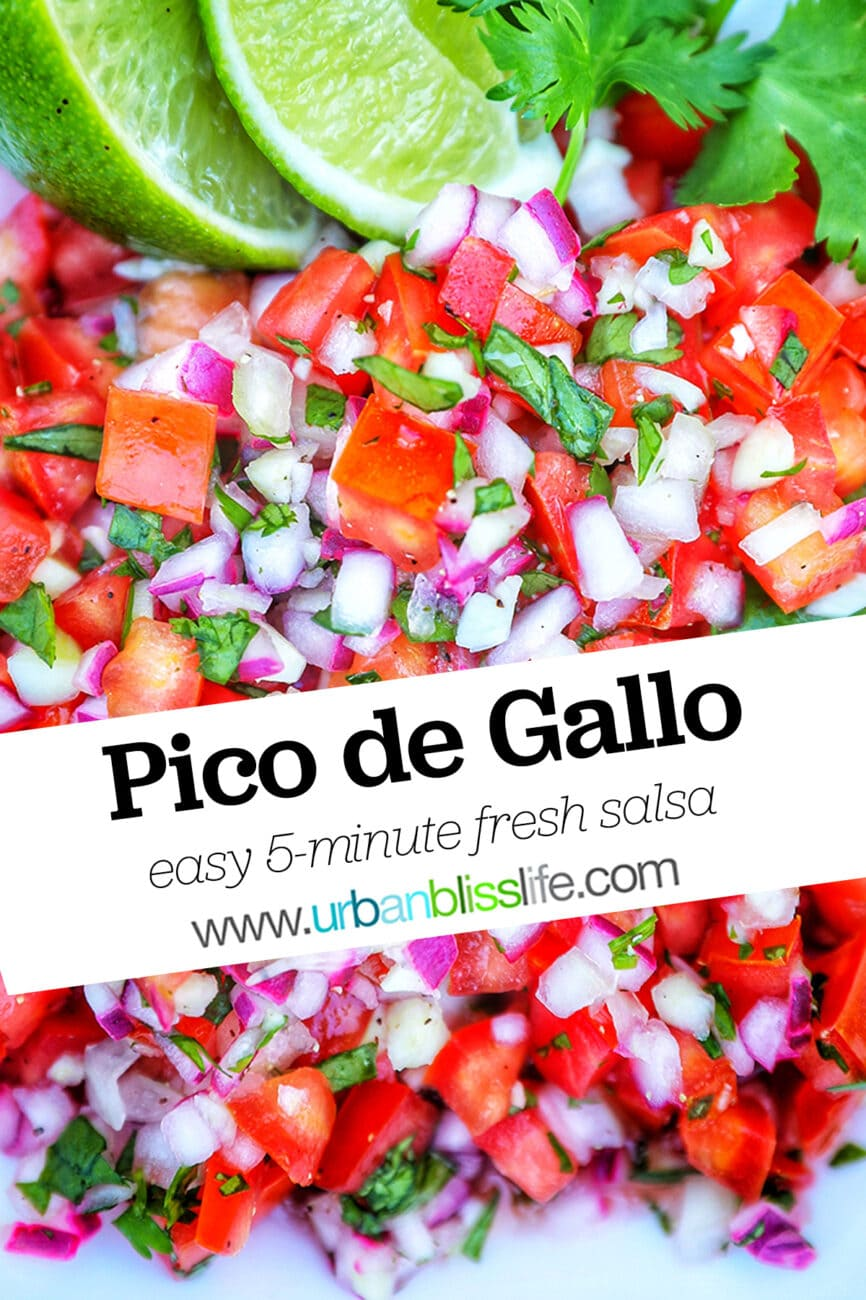 pico de gallo with text overlay